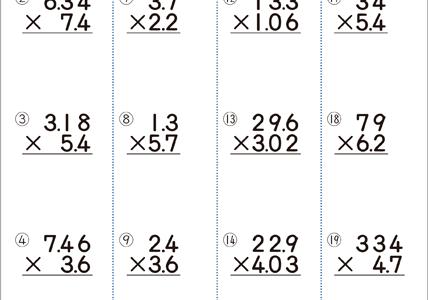 計算ドリルの式を写すことができない
