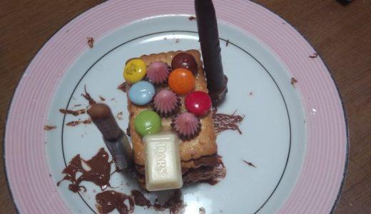 お菓子の家を作ってみました